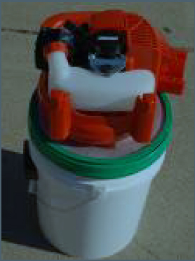 Gas Powered Dry Vac